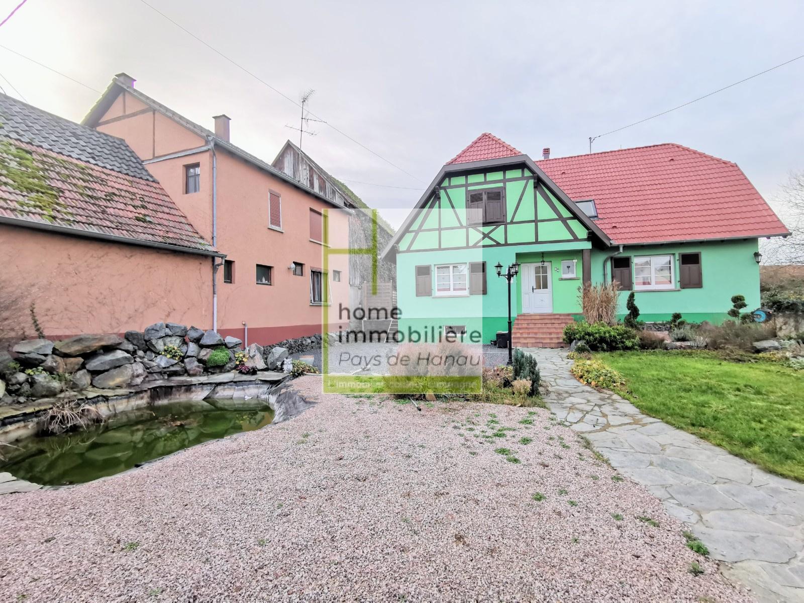 Rénover Une Maison Alsacienne location secteur obernai - maison alsacienne de 6 pièces